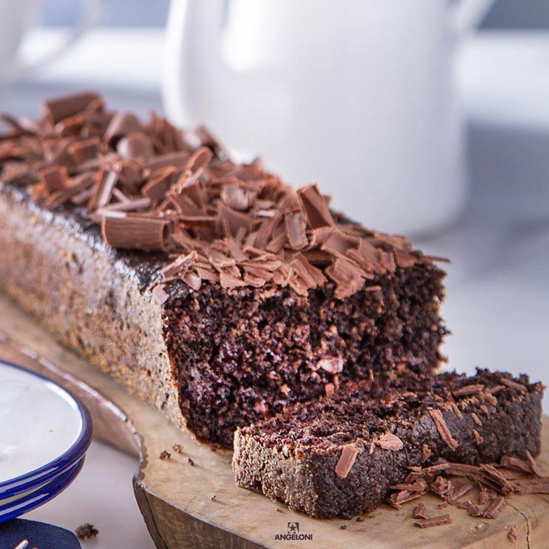 Repost Redeangeloni Bolo De Chocolate Com Farinha De Avei