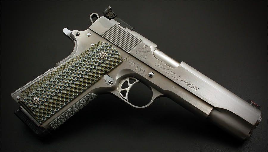 Springfield 1911 with VZ Predator Recon Grips | G - Handguns
