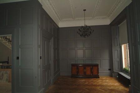 Grey Wall Paneling : Wall paneling wooden wall panels wall ideas uk home ideas