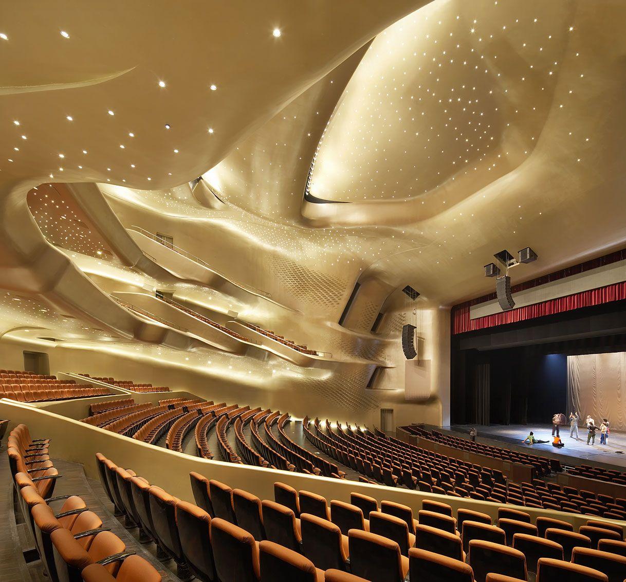 Hufton Crow Projects Guangzhou Opera House Zaha