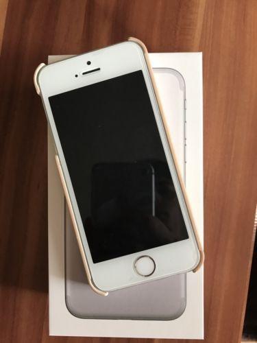 Apple iPhone 5s - 16GB - Silber (Ohne Simlock ...