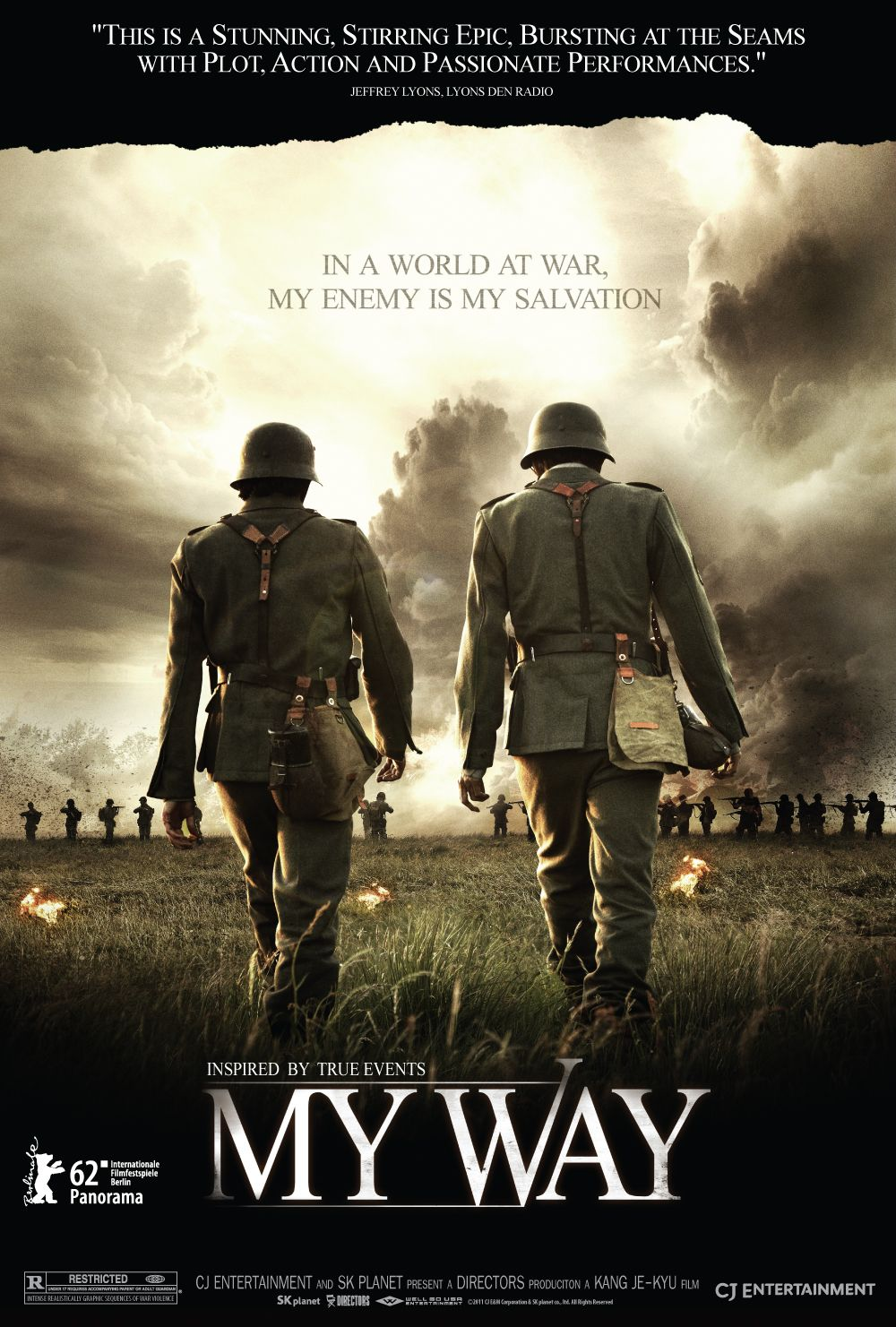 This factbased wartime drama follows two young men, one