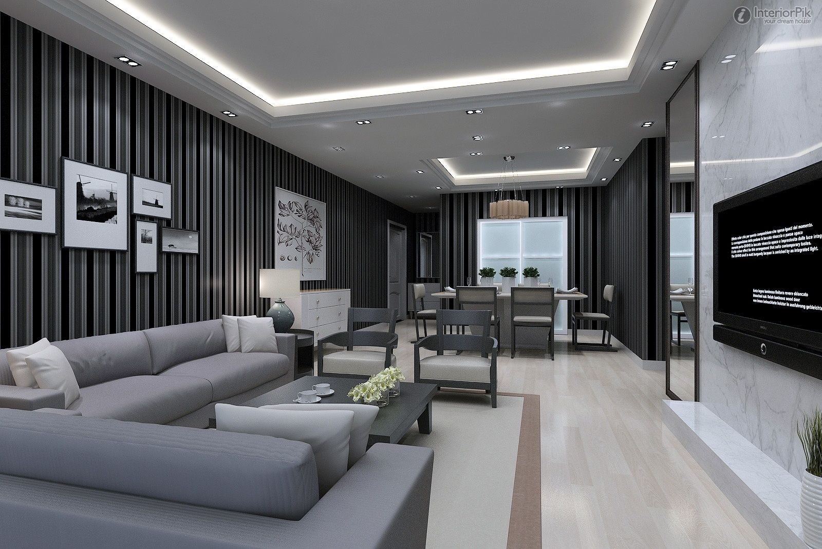 Superbe Modern Living Room Design Ideas 2012 Photo