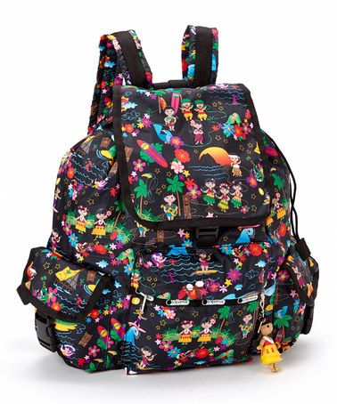Polynesian Paradise Voyager Backpack by LeSportsac #zulily #zulilyfinds  How cute!!!!!