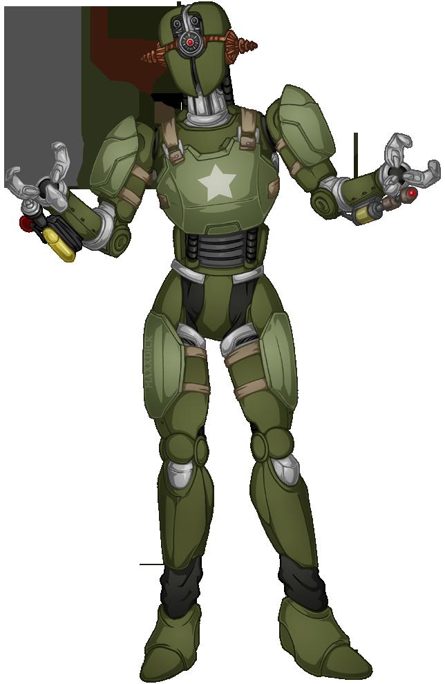 Comm Kowalski By Maxxdick On Deviantart In 2021 Female Robot Fallout Fan Art Fallout Art