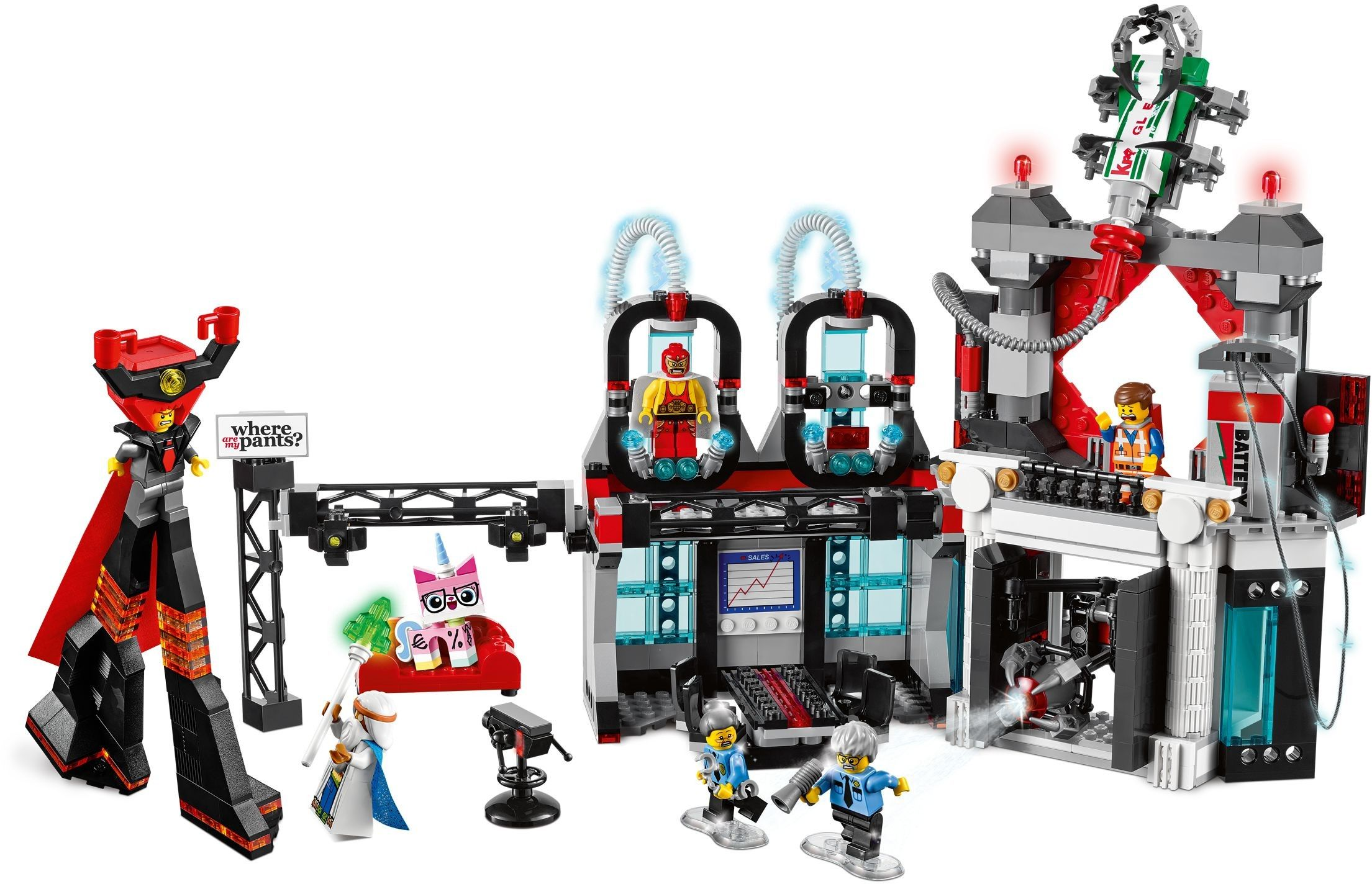 70809 1 Lord Business Evil Lair Lego Movie Sets Lego Movie Lego Sets