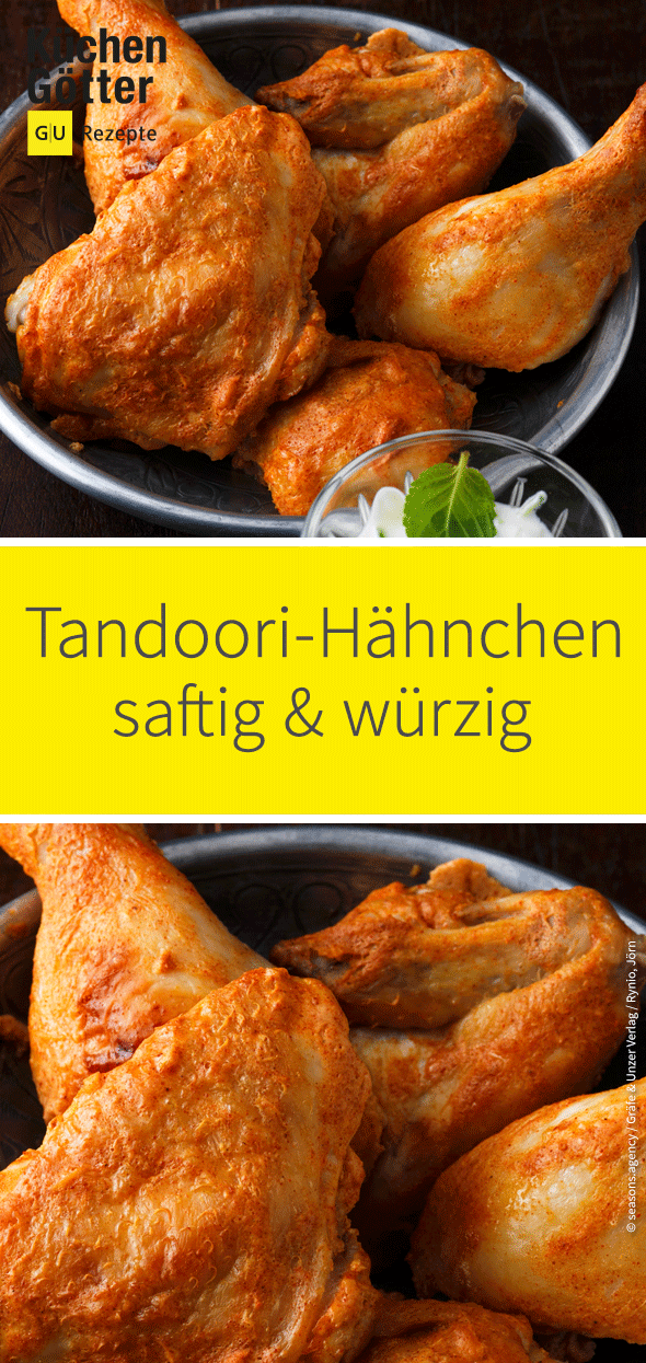 Tandoori-Hähnchen #grilledsteakmarinades