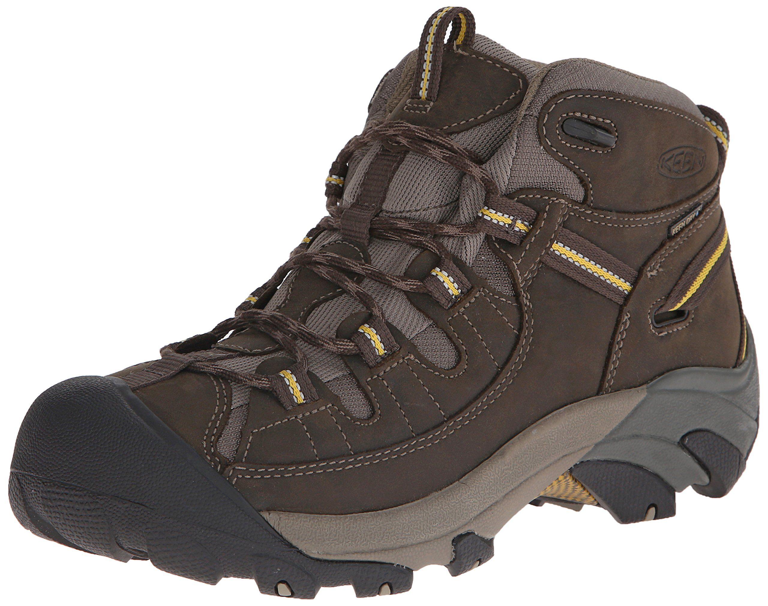 Keen Men S Targhee Ii Mid Waterproof Hiking Boot Black Olive