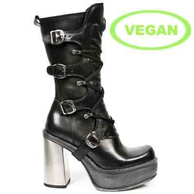 M9973-vc11 Womens New Rock Vegan Calf Boots
