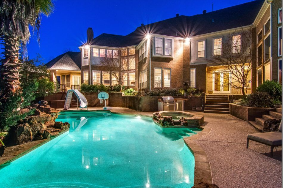 Luxury Homes With Pools peace and tranquility await you at this stonebriar creek estates