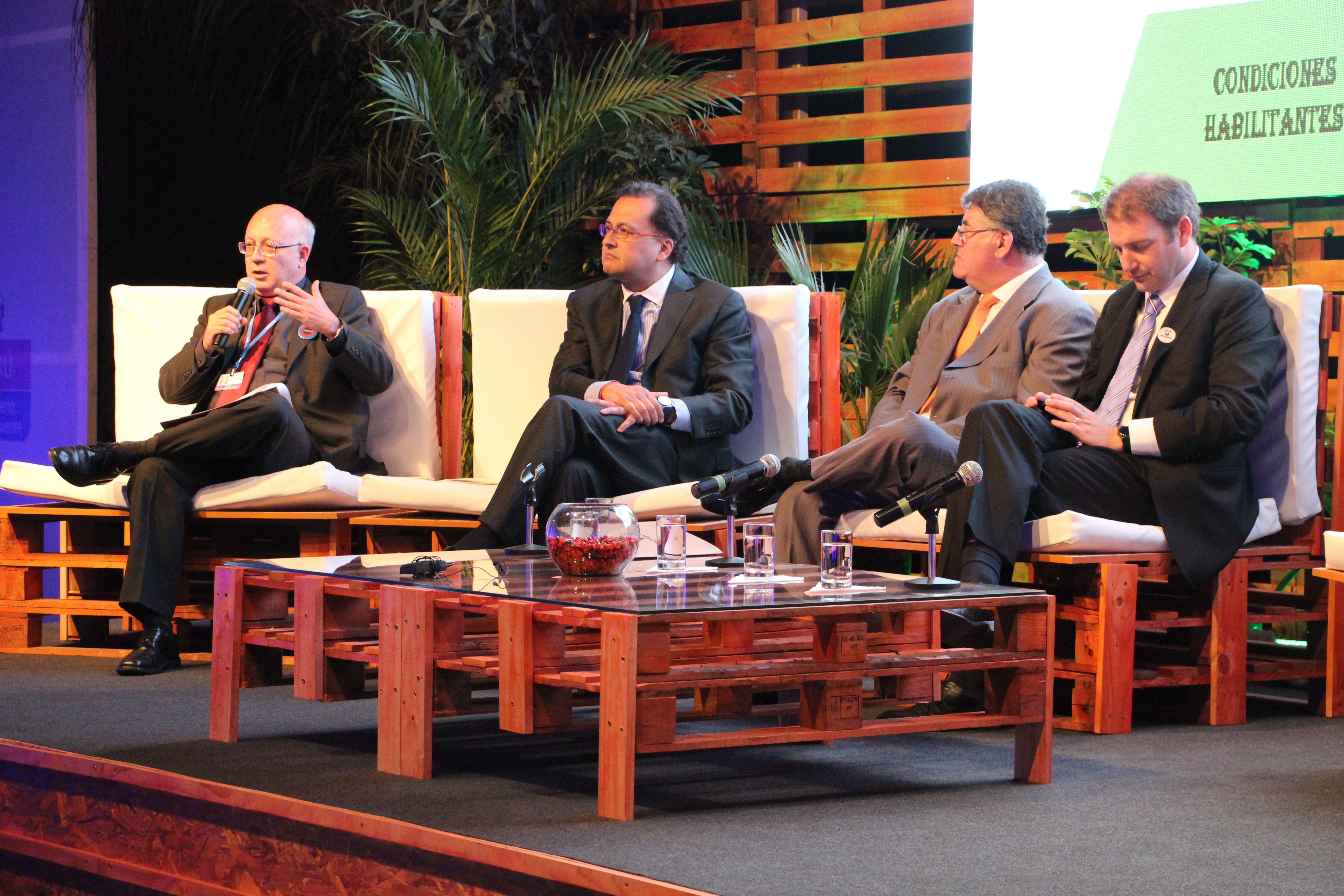 Panel de Programa Nacional de Conservación de Bosques