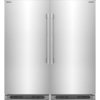 Frigidaire Professional Fpfu19f8rf All Refrigerator Fpru19f8rf Freezer Pair