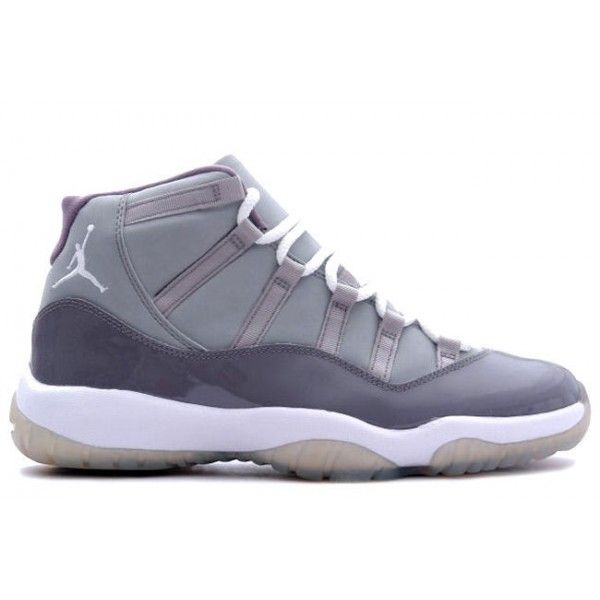 Kid Air Jordans 11 Grey-White Shoes