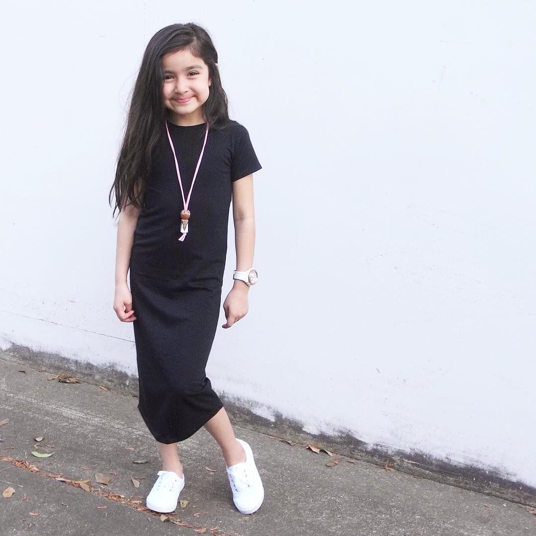 Bamboo Dress Girls Maxi Dress Toddler Dress Kids Dress