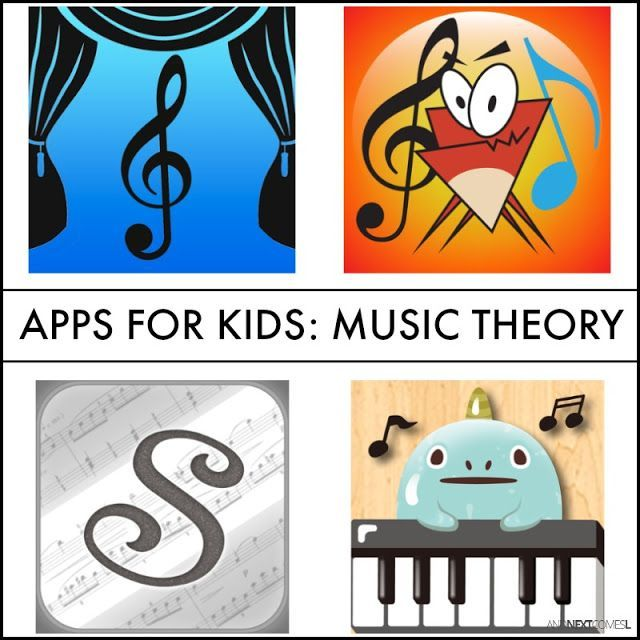 Music Theory Apps for Kids Music activities for kids