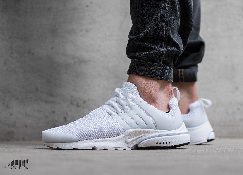 Nike Air Presto (White / White - Black)