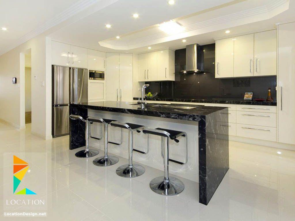 افضل انواع المطابخ بالصور لوكشين ديزين نت Modern Kitchen Bar Kitchen Bar Design Home Bar Furniture