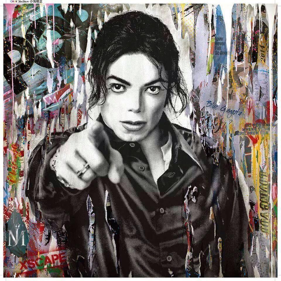 Dangerous Giclee Canvas Album Cover Picture Art Michael Jackson