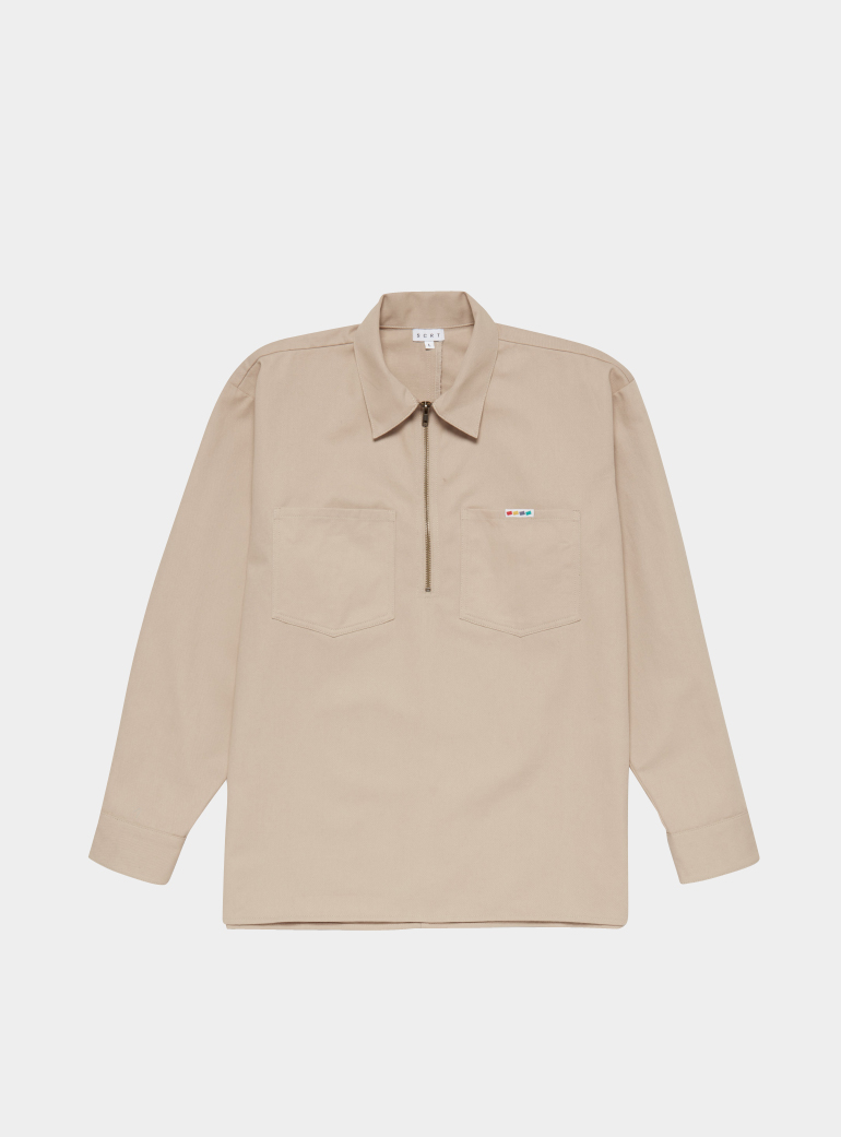 Overshirt 2019Products TopsPolo In Natural Pullover Mens K1lFJTc