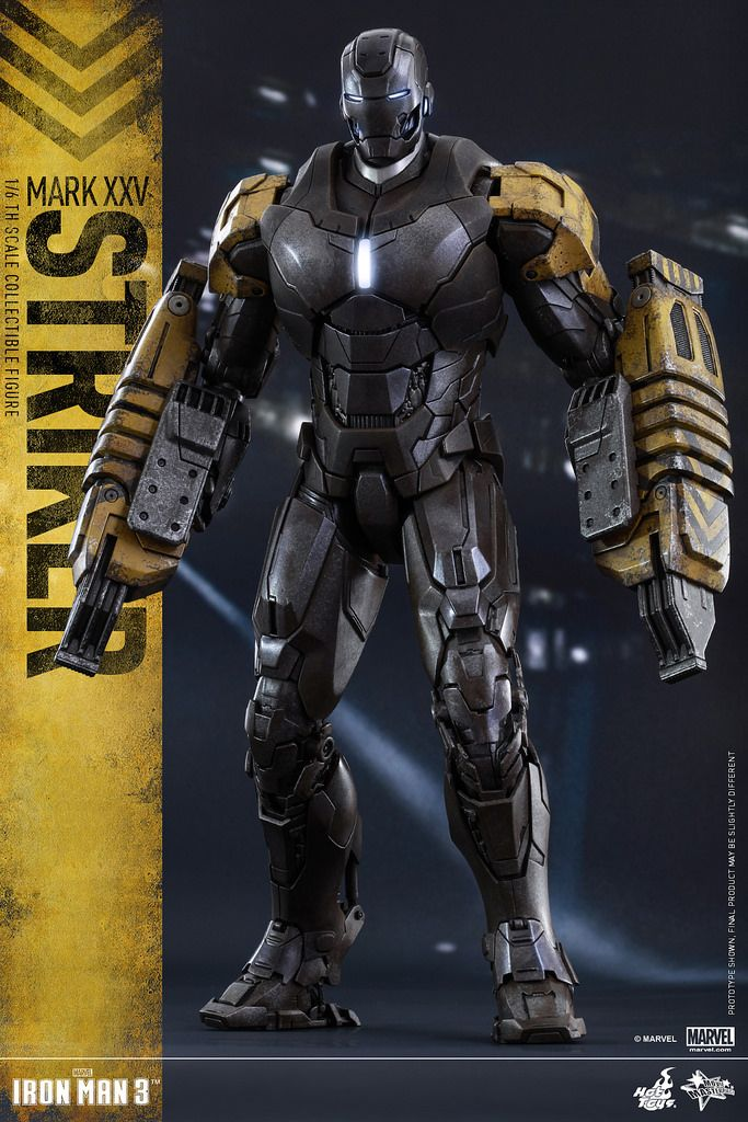 Hot Toys – MMS277 – 《鋼鐵人3》1/6比例鋼鐵人 馬克25 先鋒 | 玩具人Toy People News