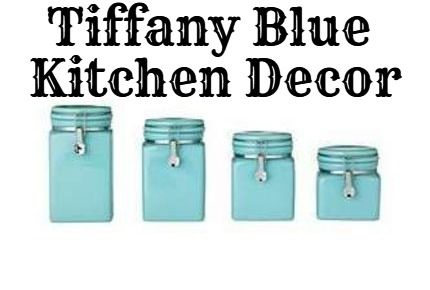 Tiffany Blue Kitchen Decor | Tiffany blue kitchen, Blue ...