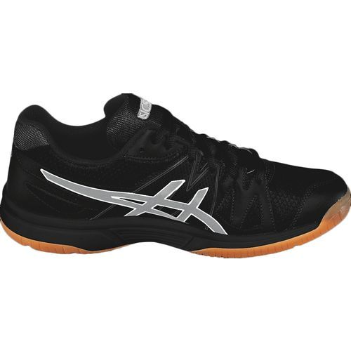 Asics® Women's GEL-Upcourt™ Volleyball Shoes (Black/Silver, Size 12