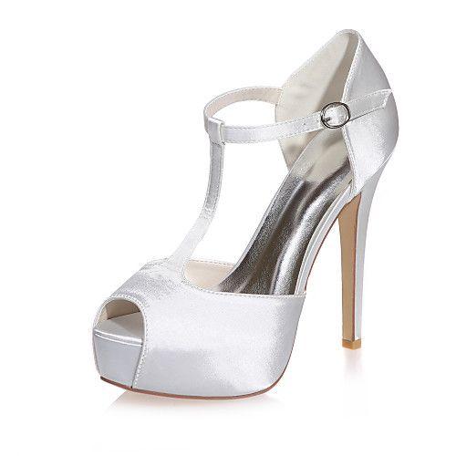 Mujer Zapatos Satén Primavera / Verano Tacón Stiletto Plata / Azul / Morado / Boda / Fiesta y Noche Offres À Vendre Prix De Sortie TEi4jzoBad