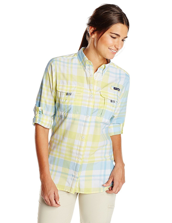 This Columbia Super Women's Sleeve Shirt Bahama Long Sportswear P06nPqg