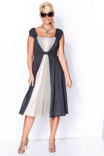 ULLA POPKEN Cocktailkleid dunkelgrau | Kleider mode ...