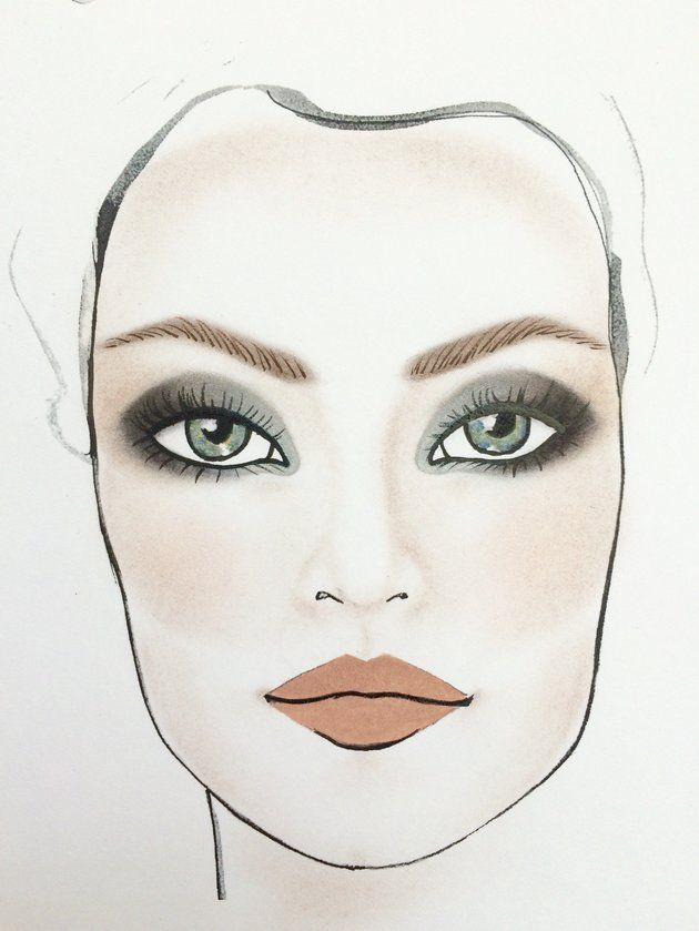 The Most Majestic Makeup For Grey Eyes Beauty Trends Pinterest