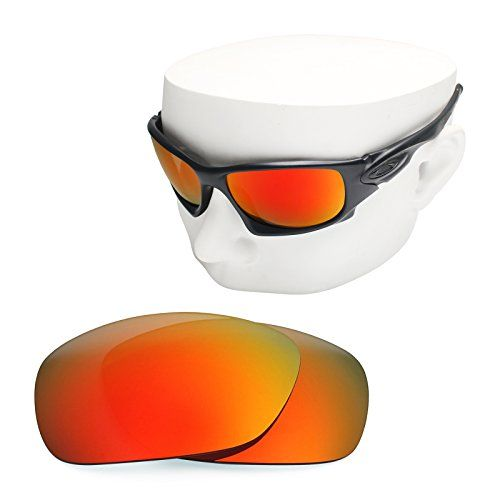 OOWLIT Replacement Sunglass Lenses for Oakley Ten X POLARIZED Fire Red  MirrorPolarized One Size >>> You can get additiona… | Sunglass lenses, Mens  eyewear, Red fire