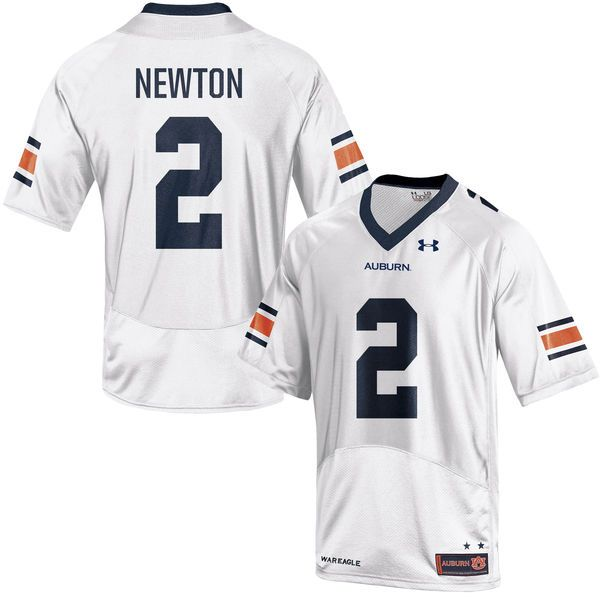 Cam Newton Auburn Tigers Under Armour Replica Jersey - White -  109.99 b7aa9a3d8