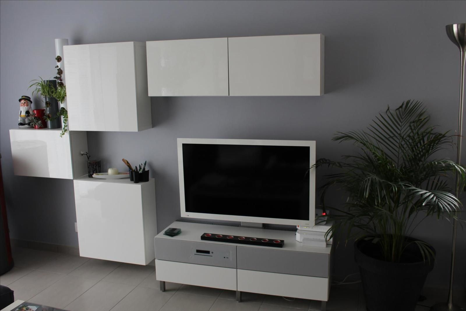 Album 4 Banc Tv Besta Ikea R Alisations Clients S Rie 1  # Magasin Ikea Meuble Tv Marron