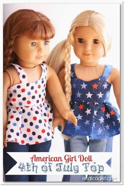 Doll Clothes Pattern Make Clothes For American Girl Doll