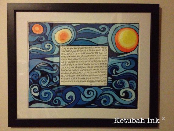 Custom made Ketubah  made to order by KetubahInk on Etsy, $350.00