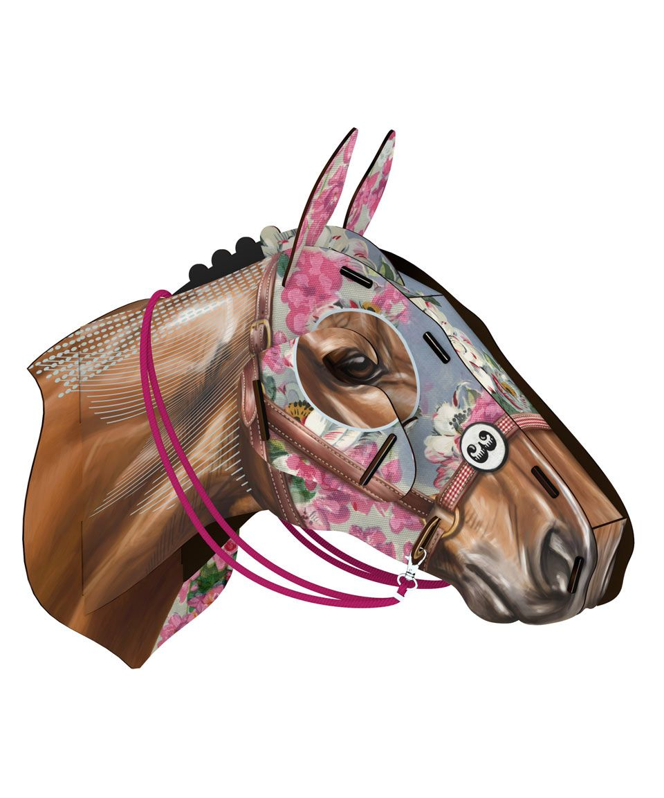 Unexpected Icarus Racing Horse Head Ornament Miho