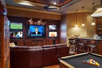 media and game room.