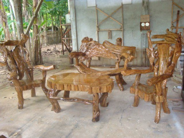 Molave Wood Roots Furnitures