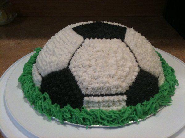 Easy Soccer Ball Topper Cake Decorating Tutorials Fondant Cupcakes Soccer Cake