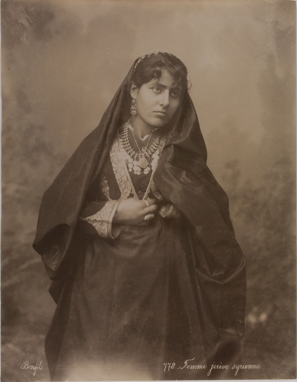 Jewish woman 19th c damascus syria once upon a jewish woman 19th c damascus syria publicscrutiny Images