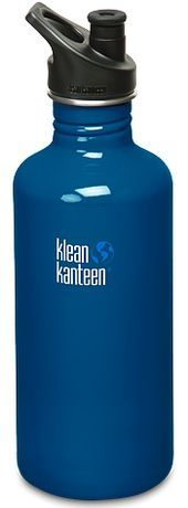 40 oz. Klean Kanteen Blue Planet With Sports Cap 3.0