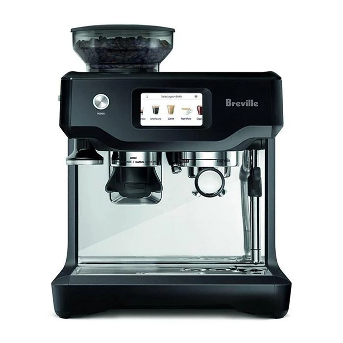Buy Breville The Barista Touch Black Truffle Espresso Coffee Machine Espresso Machine Espresso Coffee Machine Barista Coffee Machine