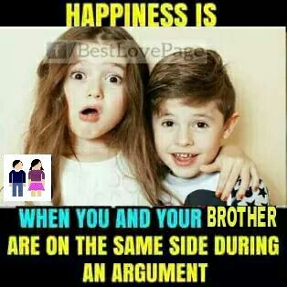 Pin by TEZA THYADI on Brother and Sister are Best Friends