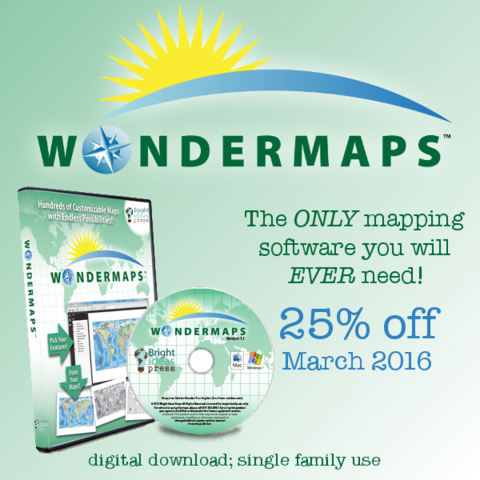 The ONLY mapping software you will every need.  #Geography #Homeschool http://www.yellowhousebookrental.com/pages/specials-and-contests