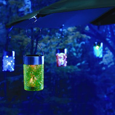 Solar Umbrella Clip Lights Interesting Solar Umbrella Clip Light Collection BedBathandBeyond Patio