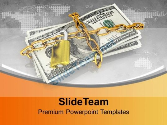 Dollar bills locked with security chain powerpoint templates ppt dollar bills locked with security chain powerpoint templates ppt themes and graphics 0213 powerpoint templates themes background toneelgroepblik Choice Image