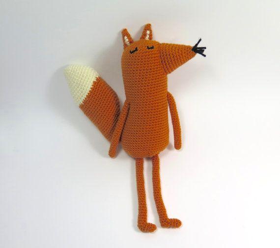 Felix le renard Amigurumi Crochet motif numérique