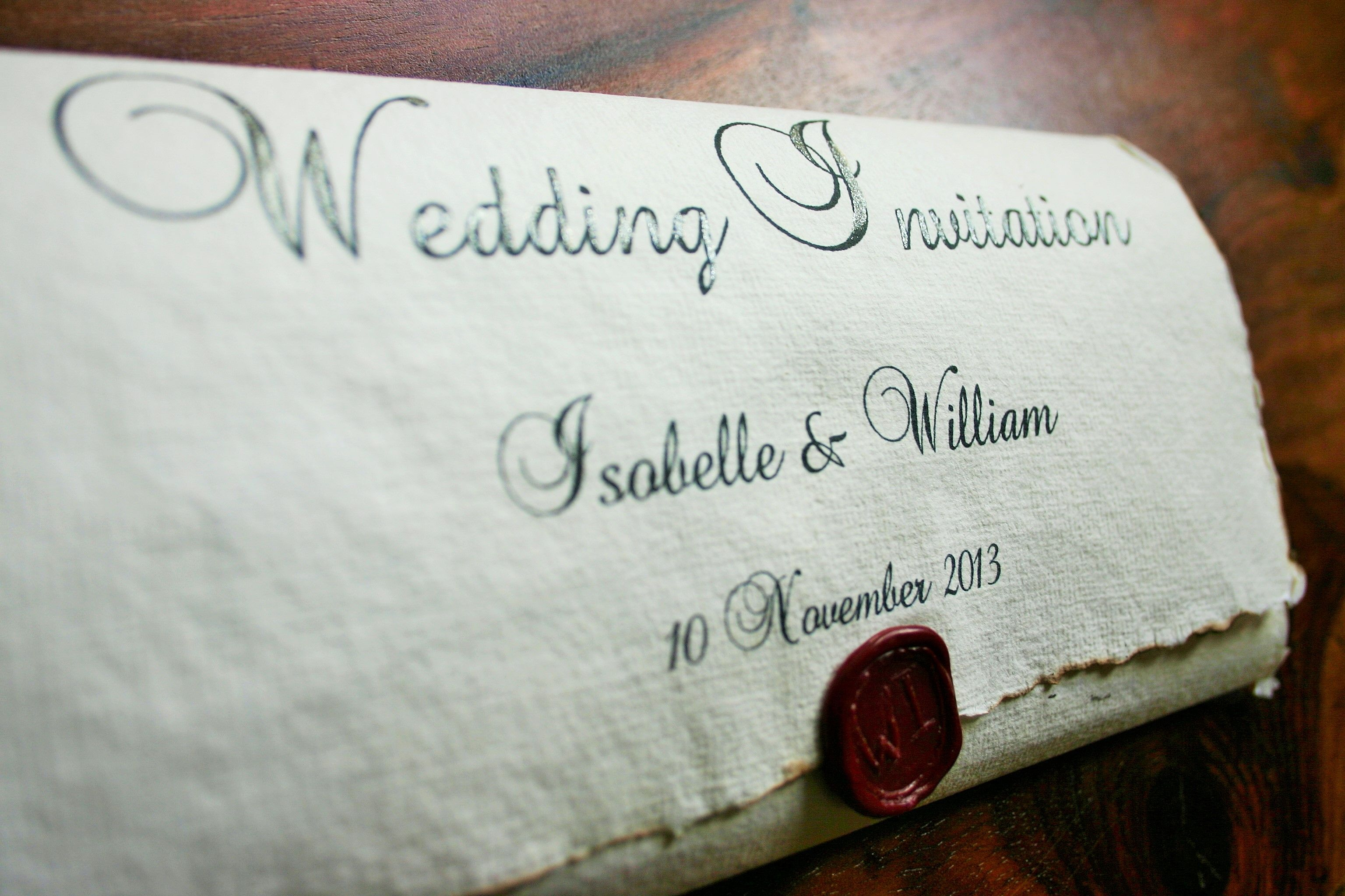 Extraordinary Medieval Wedding Invitations Which You Need To Make ...
