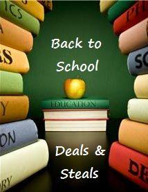 Blog entry with lists of best deals this week on school supplies from Staples, Walgreens, Target, Office Max and Office Depot.