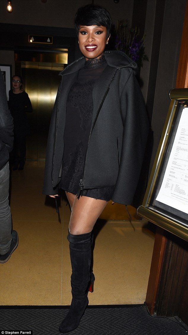 f1697af08d7 Go thigh-high with Jennifer s Louboutin boots  DailyMail Click  Visit  to  buy now